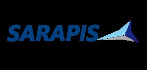 Sarapis logo 2019 - bleu fort